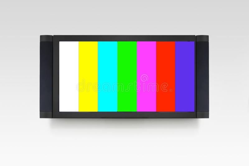 TV error.  royalty free stock image