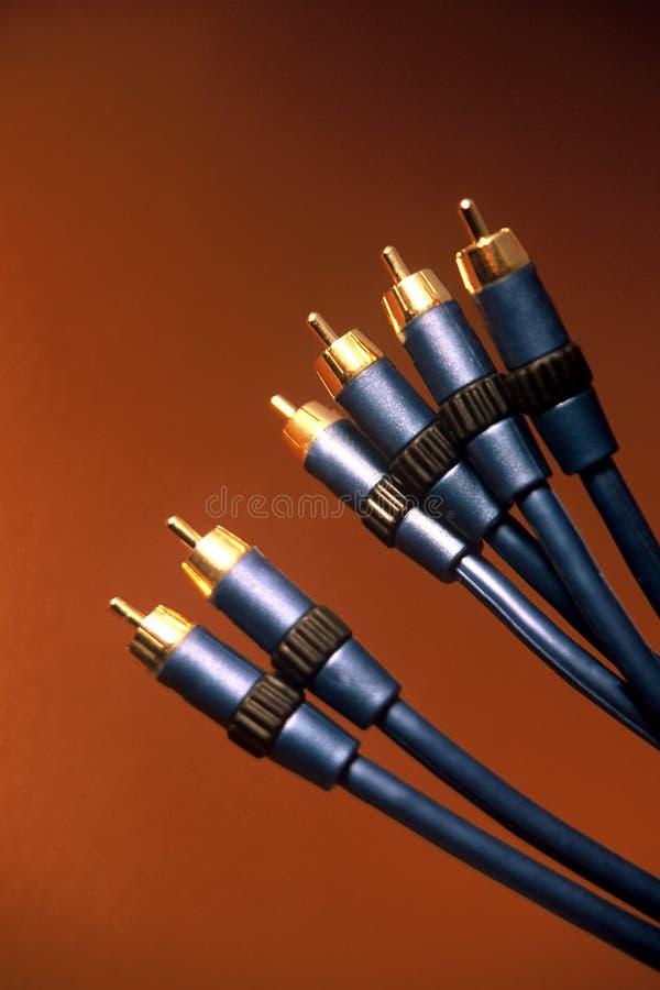 Download Tv för 2 kablar fotografering för bildbyråer. Bild av sight - 504717