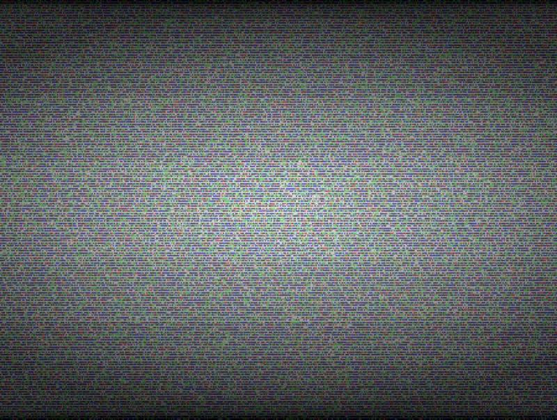 TV hałasu bezszwowa wektorowa tekstura Żadny sygnał i ilustracja wektor