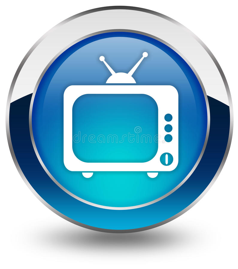Tv Icon Royalty Free Stock Image