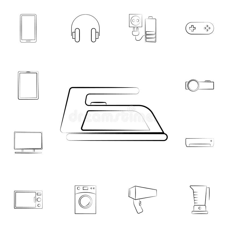TV icon. Detailed set of home appliances. Premium graphic design. One of the collection icons for websites, web design, mobile app. On white background stock illustration