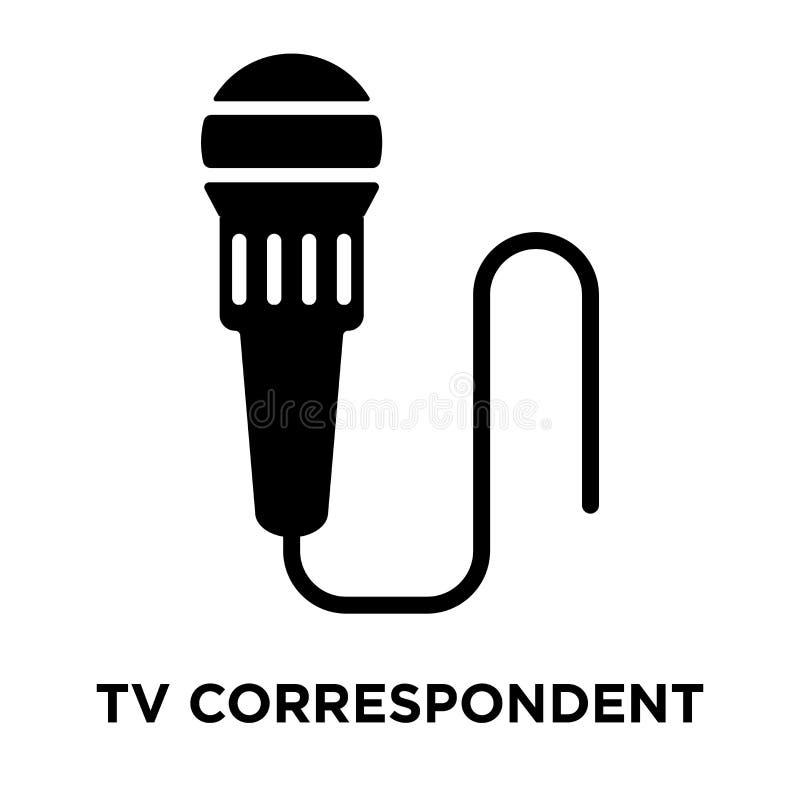 TV ikony Odpowiedni wektor odizolowywający na białym tle, logo ilustracja wektor