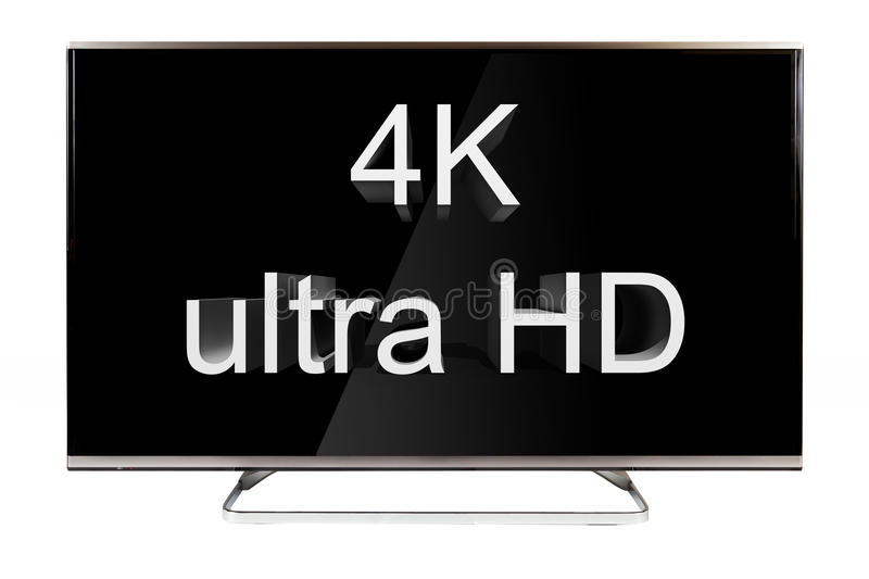 TV - 4K royalty free stock images