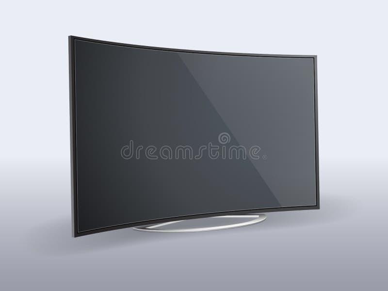 TV LCD απεικόνιση αποθεμάτων