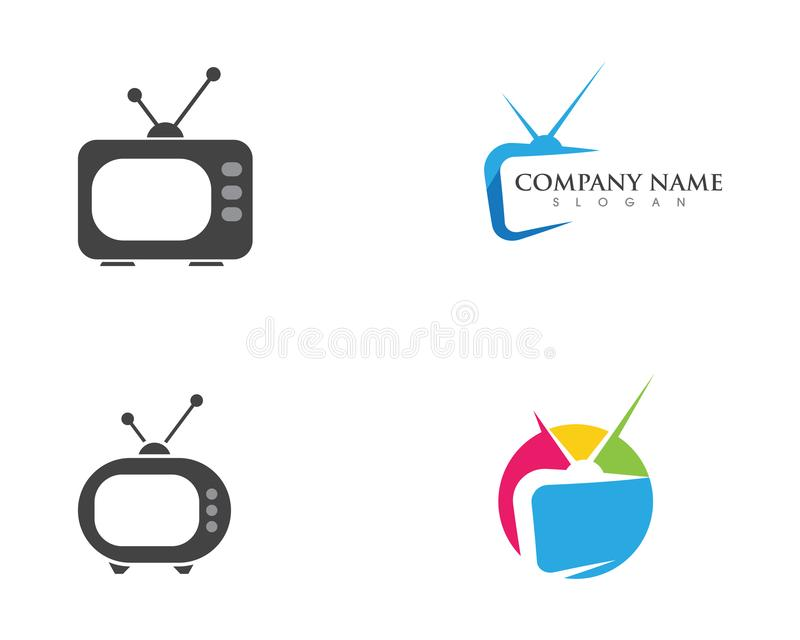 TV , LCD, LED, Monitor Icon Vector Stock Vector - Illustration of ...