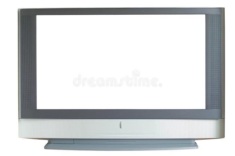 TV met groot scherm stock afbeeldingen
