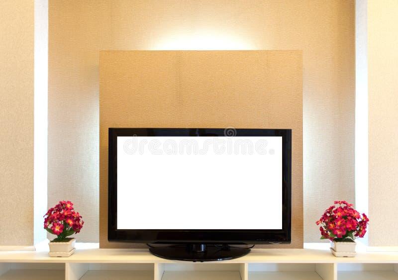 TV moderna immagine stock