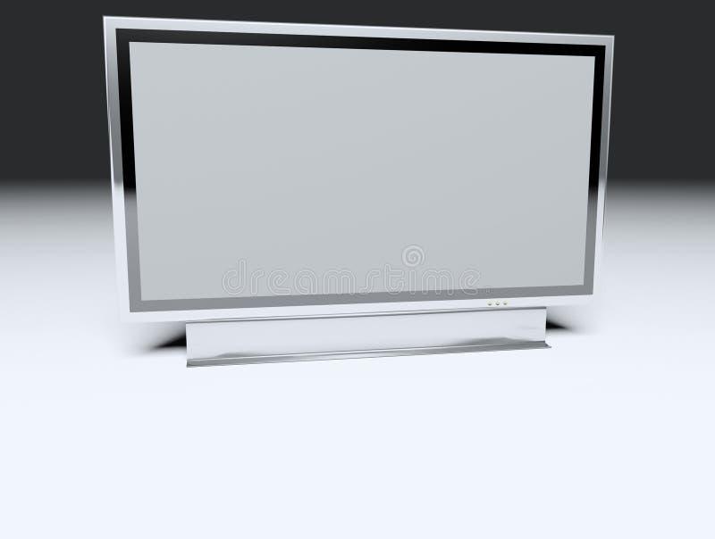 Download TV Piana - Affissione A Cristalli Liquidi Illustrazione di Stock - Illustrazione di ricezione, brown: 3876127