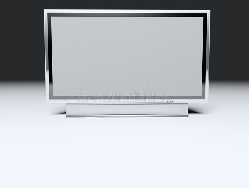 Download TV Piana - Affissione A Cristalli Liquidi Illustrazione di Stock - Illustrazione di esposizione, elettrico: 3876130