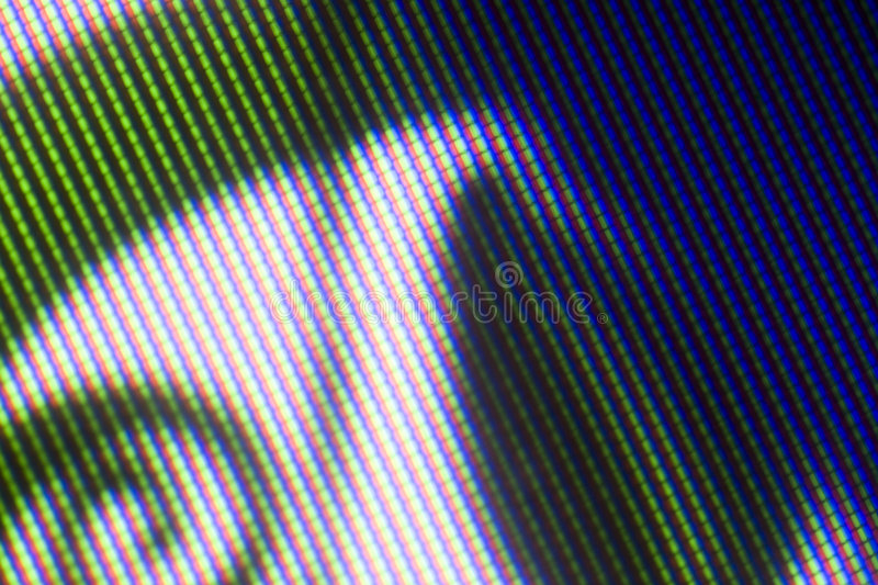TV pixel patern. Pixel patterns from an old CRT television stock images