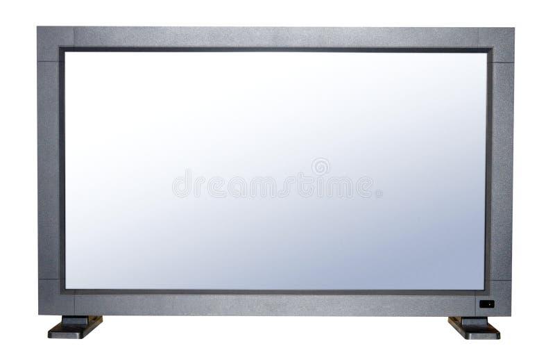 TV plana moderna fotografía de archivo libre de regalías