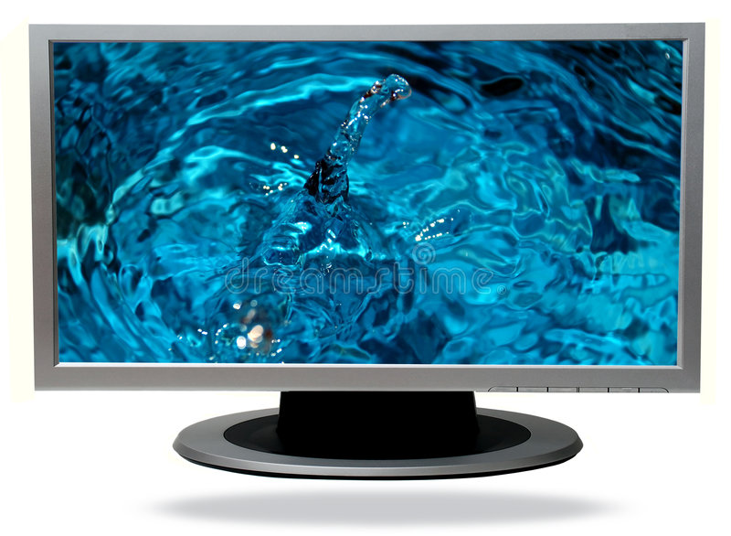 TV-plasma stock foto