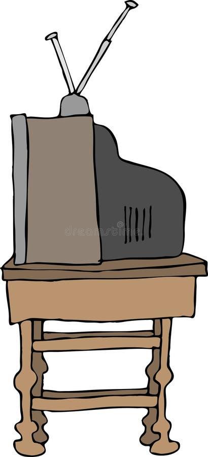 TV portatile royalty illustrazione gratis