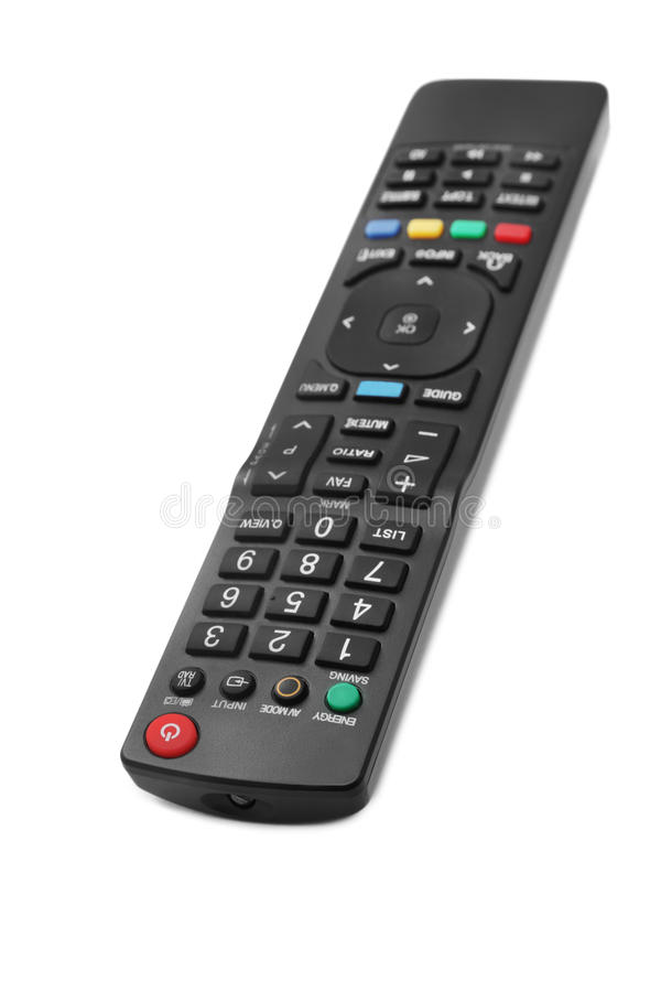 TV Remote Control Royalty Free Stock Photo