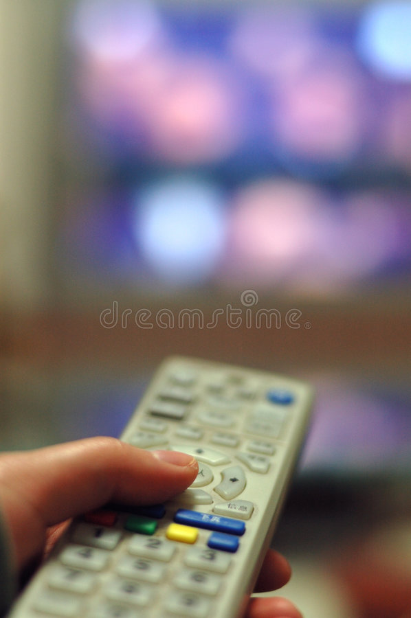 Download Tv Remote Control stock photo. Image of cable, business - 4473004