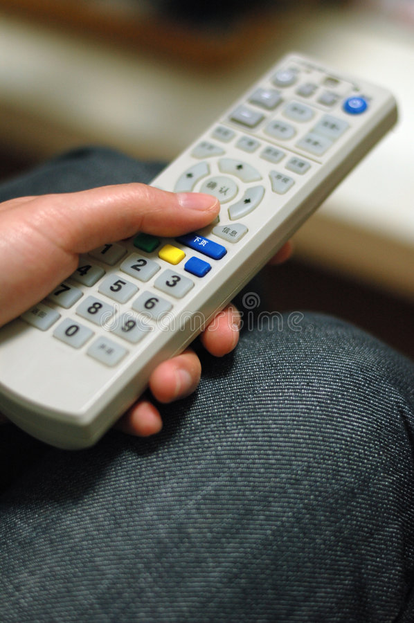 Download Tv Remote Control stock image. Image of color, definition - 4474335