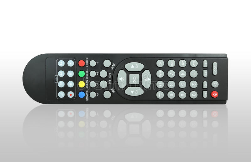 Download TV remote control stock photo. Image of button, electronic - 33781148
