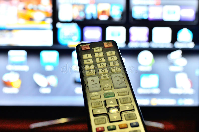 Download TV remote control stock image. Image of inside, news - 35720535
