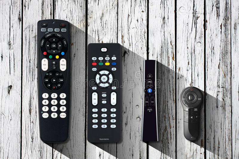 TV remote stock images