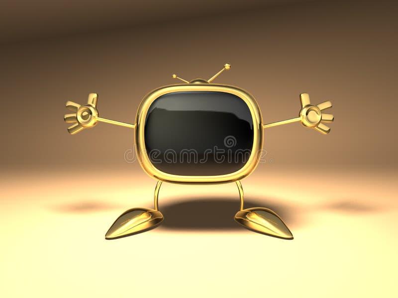 Download TV retra stock de ilustración. Ilustración de fusible - 1288186