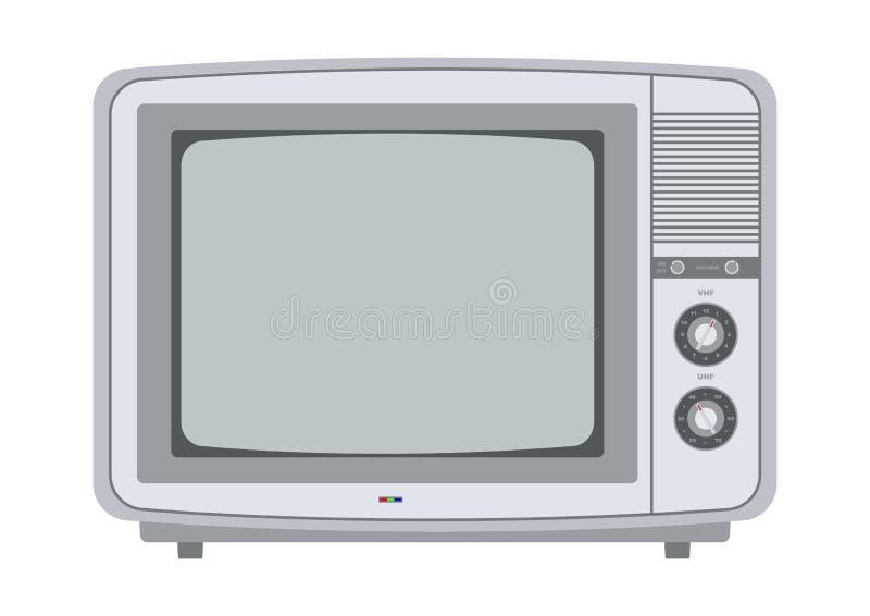 Tv retra a partir de los a os 70 ilustraci n del vector - Television anos 70 ...