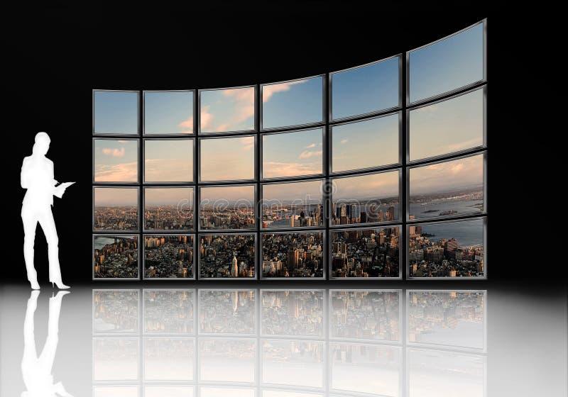 Tv screen vector illustration