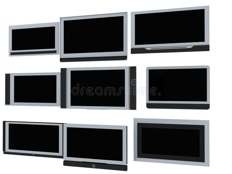 Download TV screens stock image. Image of computer, images, film - 11895973