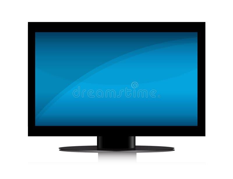 Download TV Set stock vector. Image of flat, color, background - 14403036