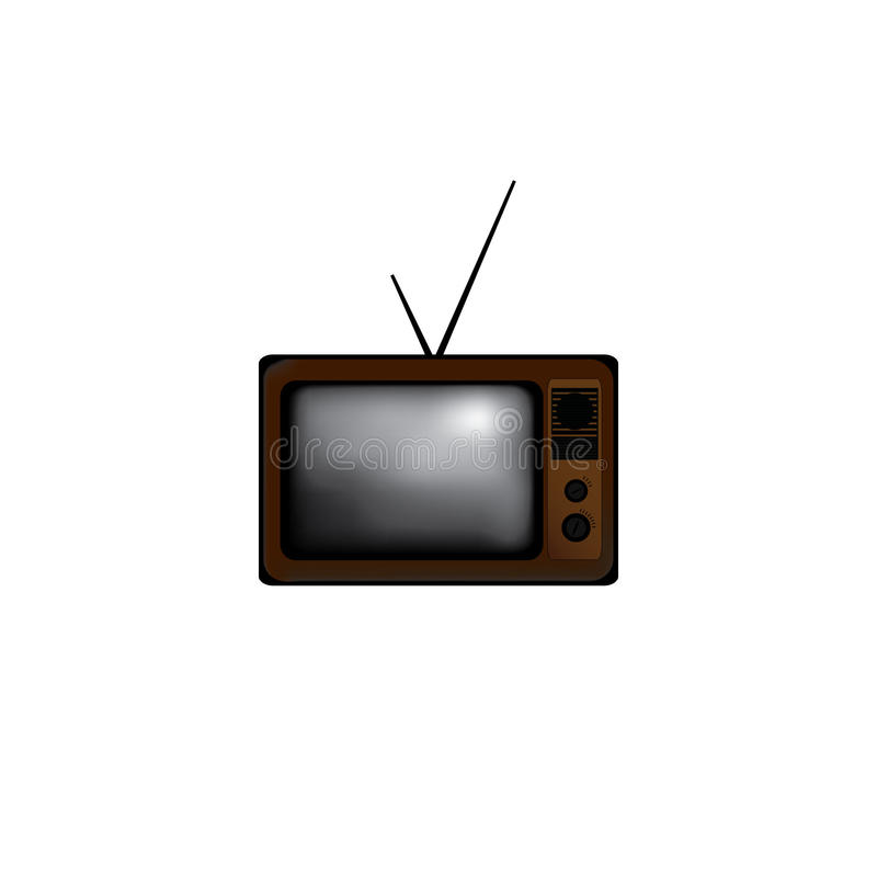 Tv Set royalty free stock photos