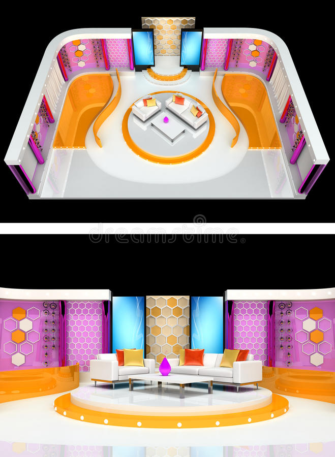Tv studio design