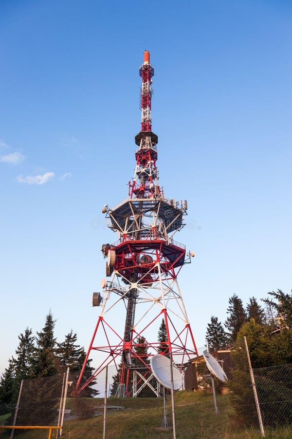 Download Tv Tower stock photo. Image of gubalowka, global, data - 26479264