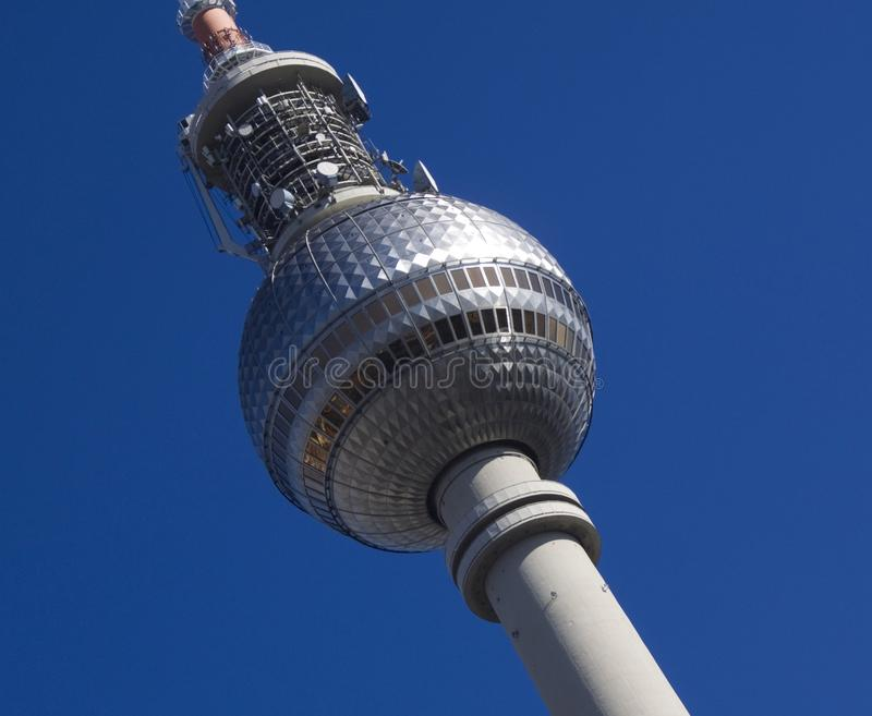 The TV Tower Royalty Free Stock Photos