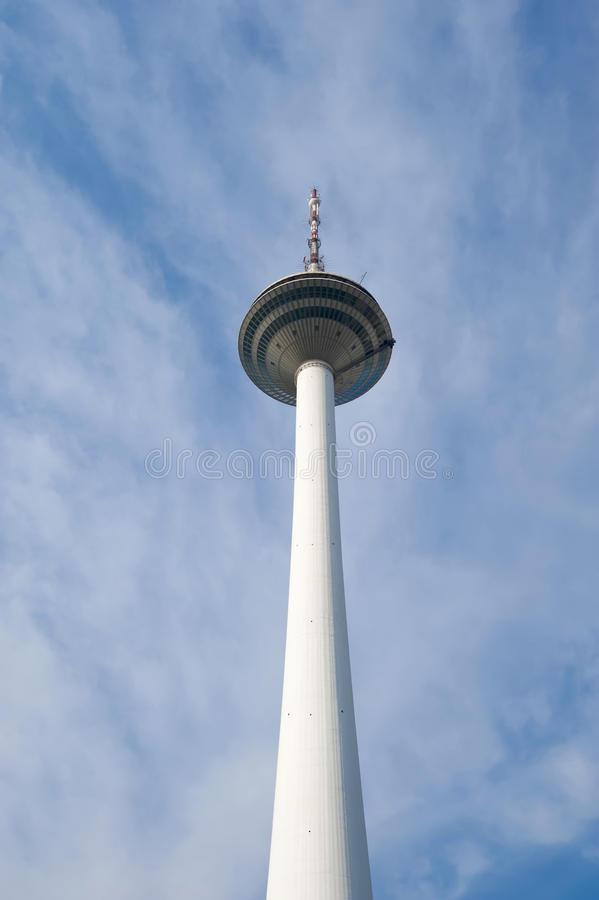 Download TV tower stock image. Image of emitters, cloud, antenna - 27853623
