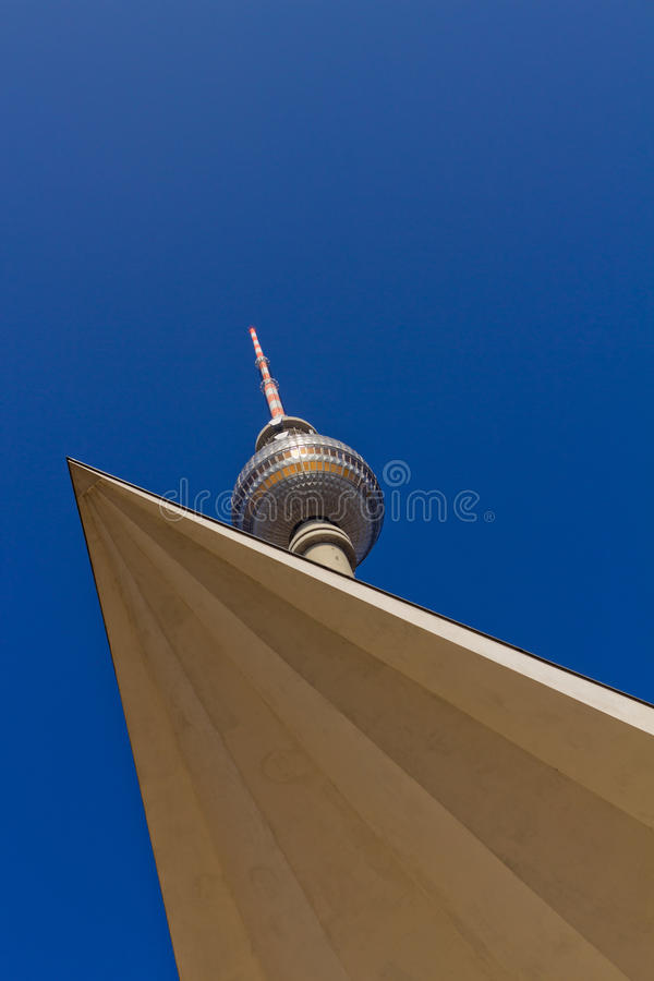TV Tower Berlin Royalty Free Stock Photography