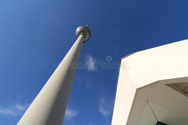 Download TV Tower in Berlin stock photo. Image of attraction, communication - 26117472