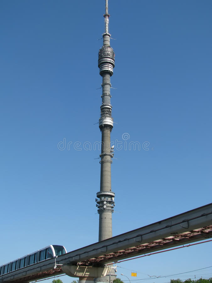 Free TV Tower In Ostankino, Moscow Royalty Free Stock Photo - 9584845