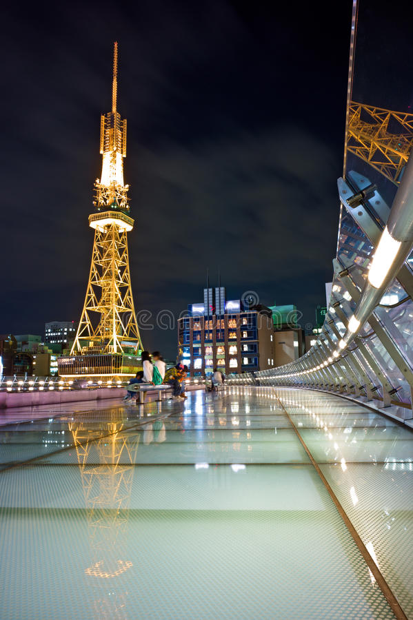 Tv Tower Nagoya stock images
