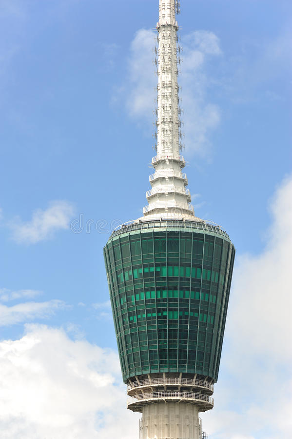 Download Tv tower point to sky stock photo. Image of high, aerial - 26396758