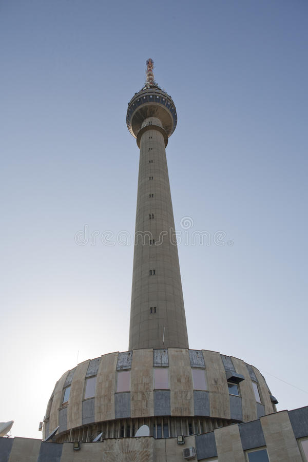 Download TV Tower stock image. Image of media, modern, connections - 34591327