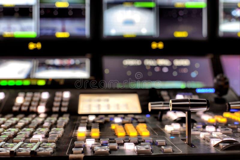TV-uitzending stock fotografie