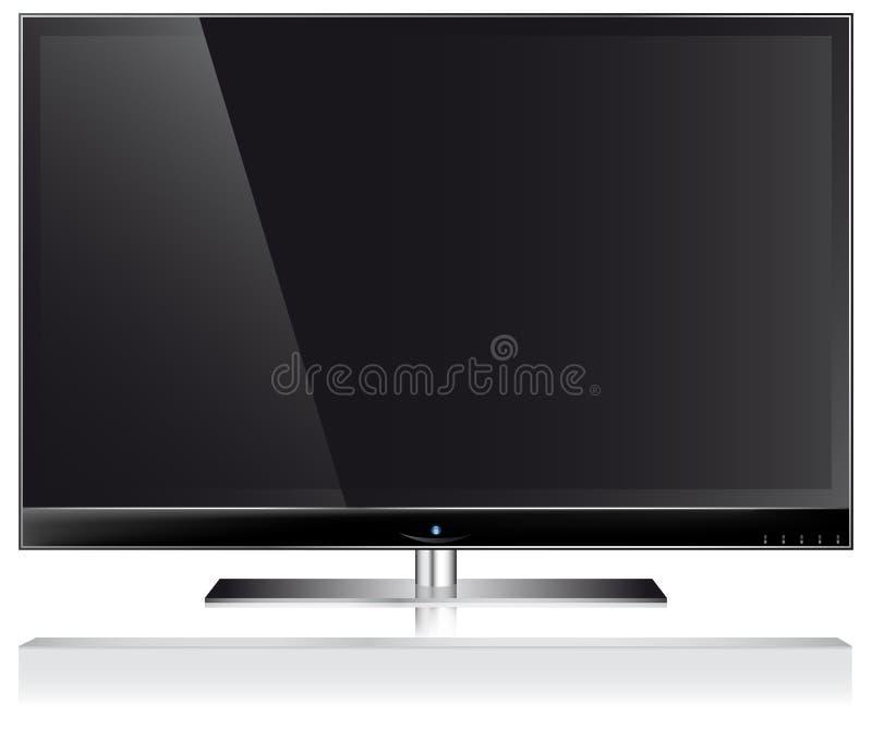 TV van de monitor royalty-vrije illustratie