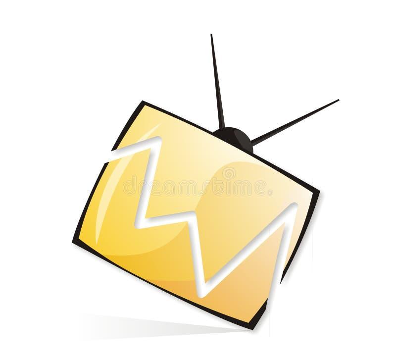 TV van de onderbreking vector illustratie