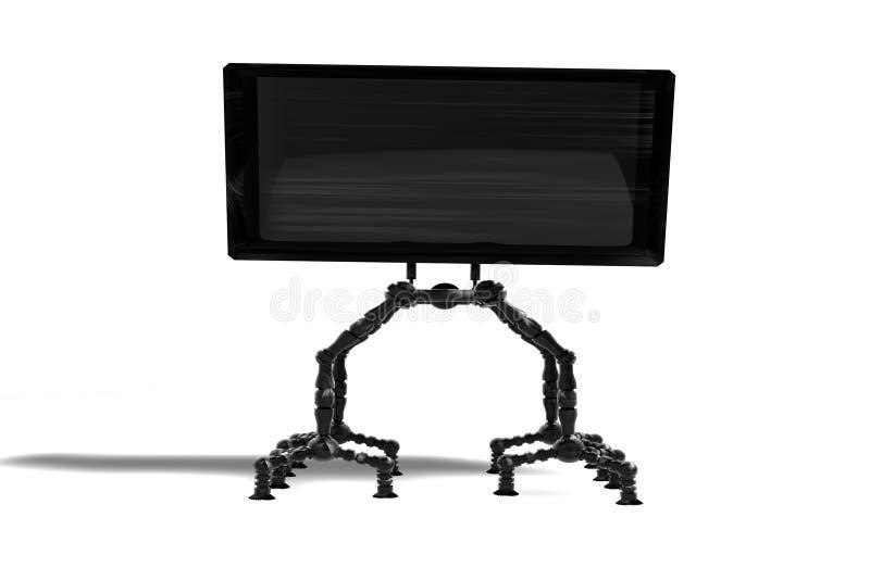 TV van de robot royalty-vrije illustratie