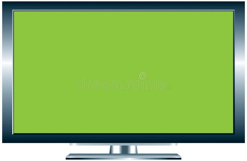 TV van het plasma stock illustratie