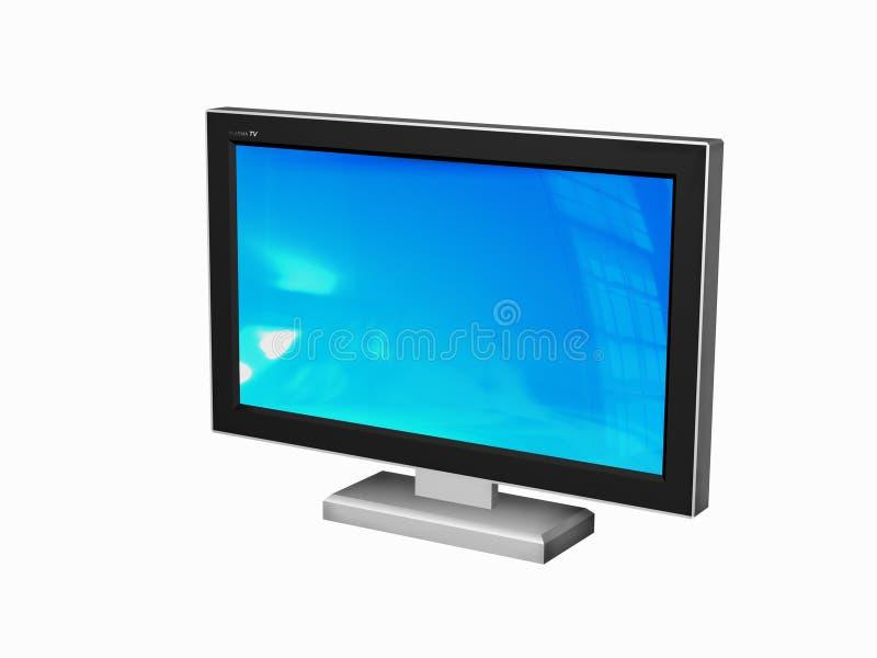 TV van het plasma royalty-vrije illustratie