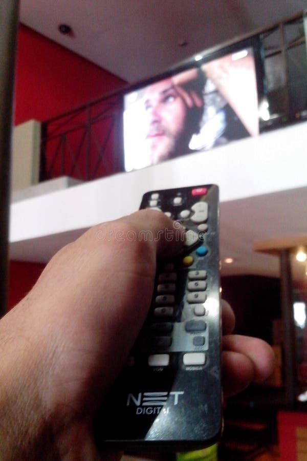 TV van SP Brazilië stock fotografie