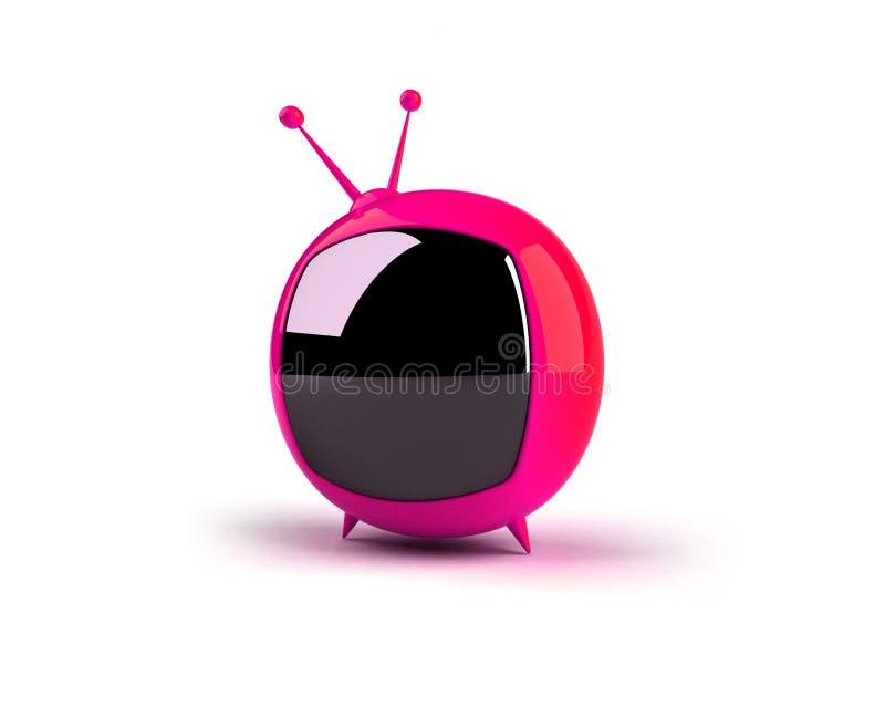 TV van Toon royalty-vrije illustratie