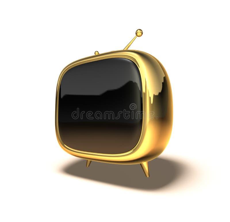 TV van Toon stock illustratie