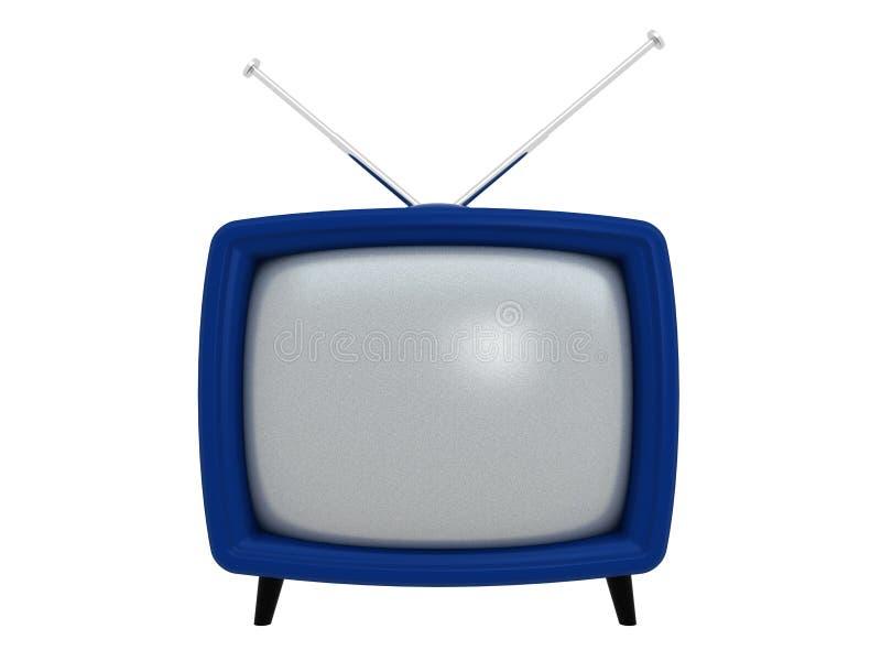 TV vieja | 3D stock de ilustración
