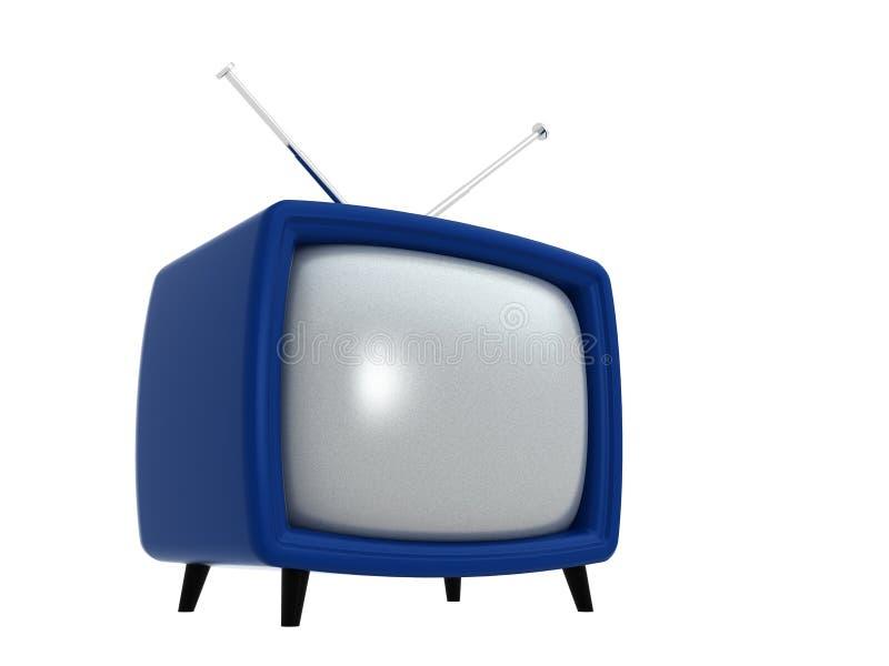 TV vieja | 3D ilustración del vector